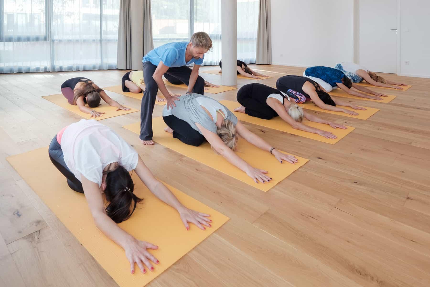 Stellung des Kindes, Childs Pose - Yoga