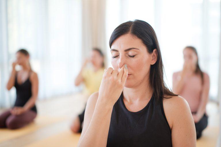 Pranayama, Yoga Atemübung