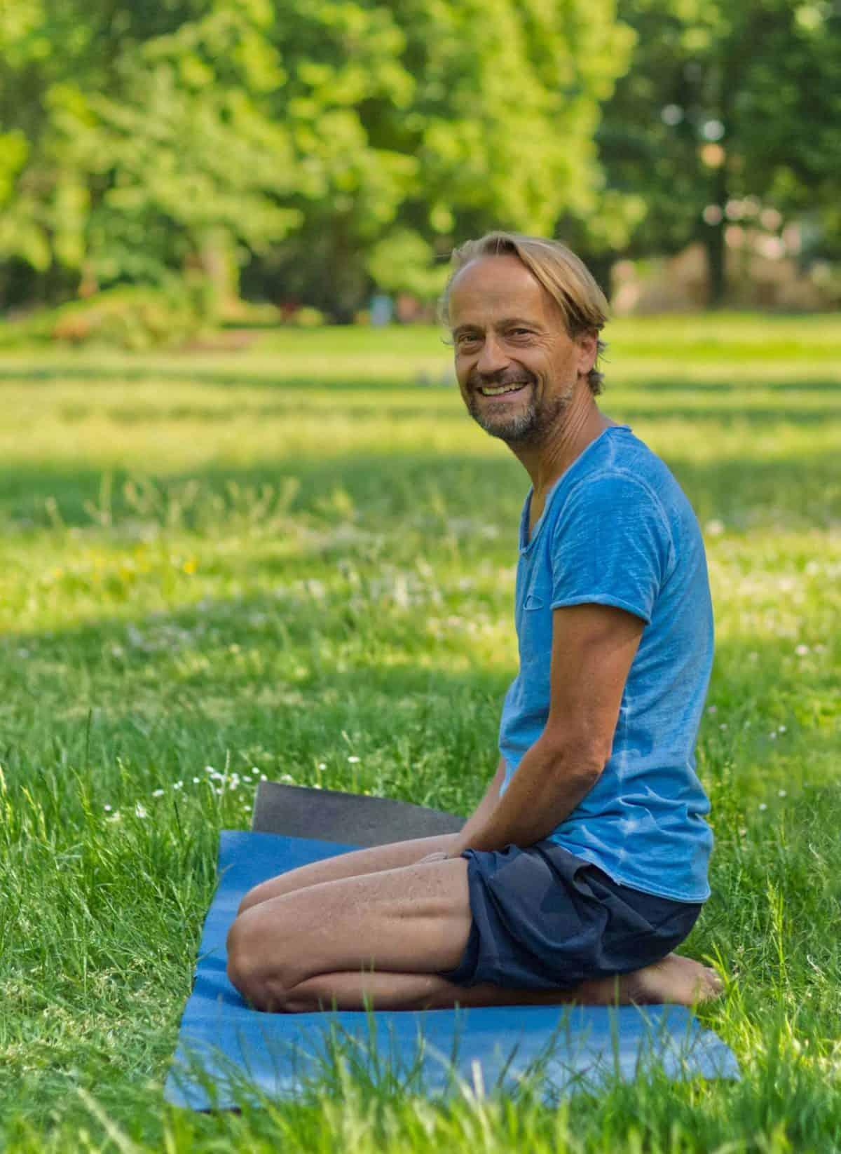 Yoga im Göthepark Landau